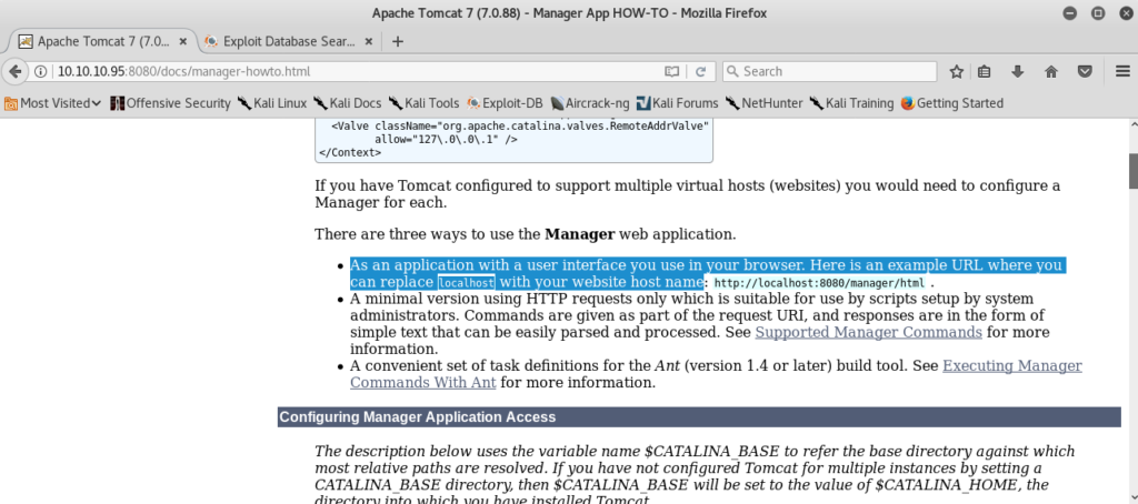 Apache Tomcat - WAR Backdoor - Ethical Tech Support